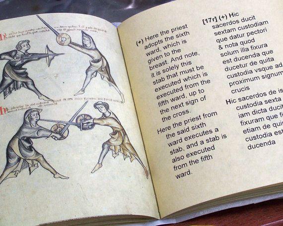 I 33 Sword and Buckler Manuscript Facsimile Edition for HEMA