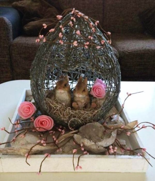 45 Festive Indoor Easter Decoration Ideas and Projects - Hercottage