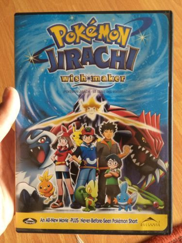 Dvd Pokemon Movie Jirachi Wish Maker Excellent Condition Original