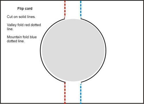 Flip Card Template Hereu0027s the template (I wouldnu0027t go so far as - line card template