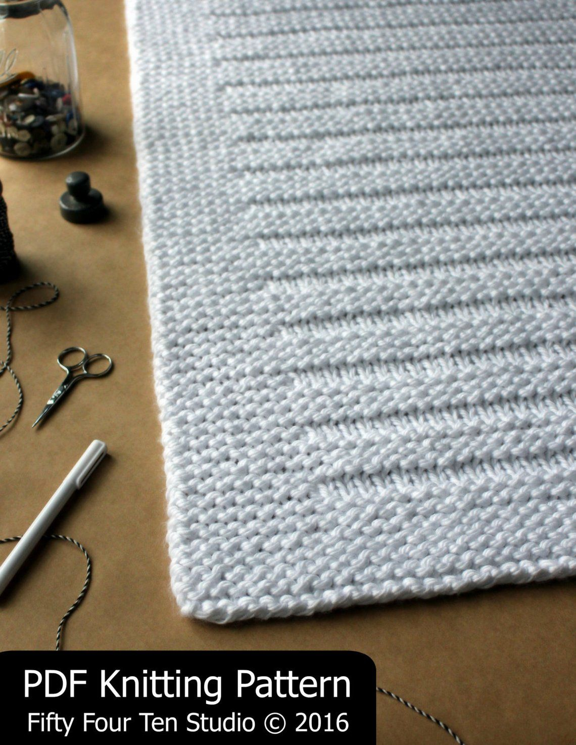 Photo of Blanket KNITTING PATTERN / Where the Sidewalk Ends / Throw / Afghan / Knit / Gift / Wedding / Baby / Quick / Easy / PDF Instant Download