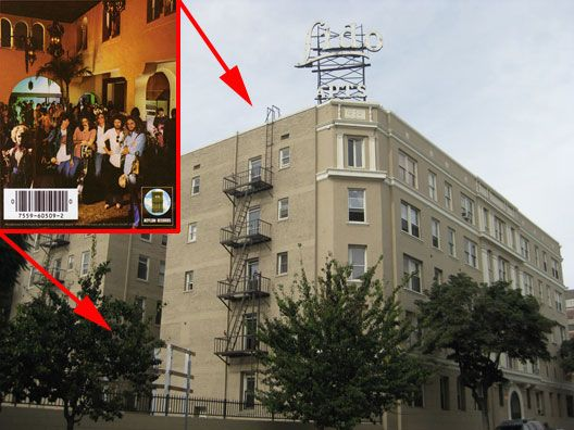 The Lido Apartments Building Is Known Both For Its Lobby S Earance On Back Cover Of Eagles Hotel California Al And Fall