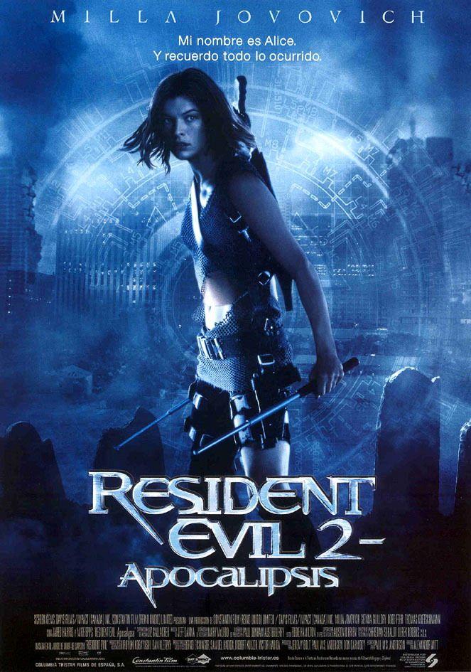 Cartel Español de Resident Evil 2: Apocalipsis