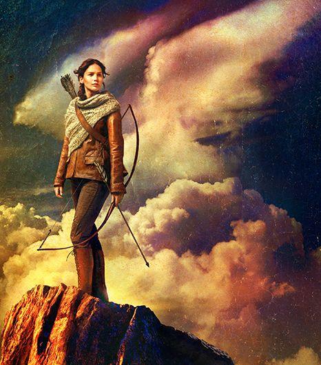 Hunger Games Catching Fire Katniss Poster