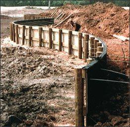 Bulkheads And Retaining Walls In Texas Vinyl Bulkheading And Podpornye Steny Stena