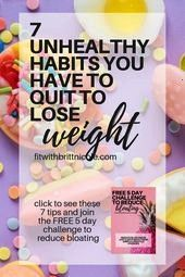 #motivation #unhealthy #fitness #habits #weight #health #have #quit #lose #you #to #77 Unhealthy Hab...