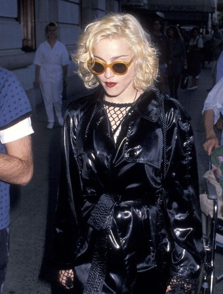 Madonna in the 90s fashion 69