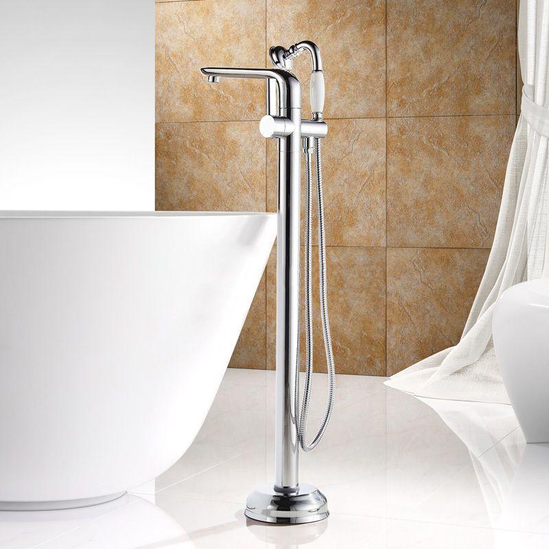 New Arrival Bathroom Floor Mounted Bath Filler Tap Mixer with ...