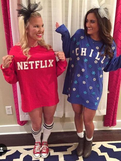 2018's Hottest Halloween Costume Ideas Perfect For A College Party #bffhalloweencostumes