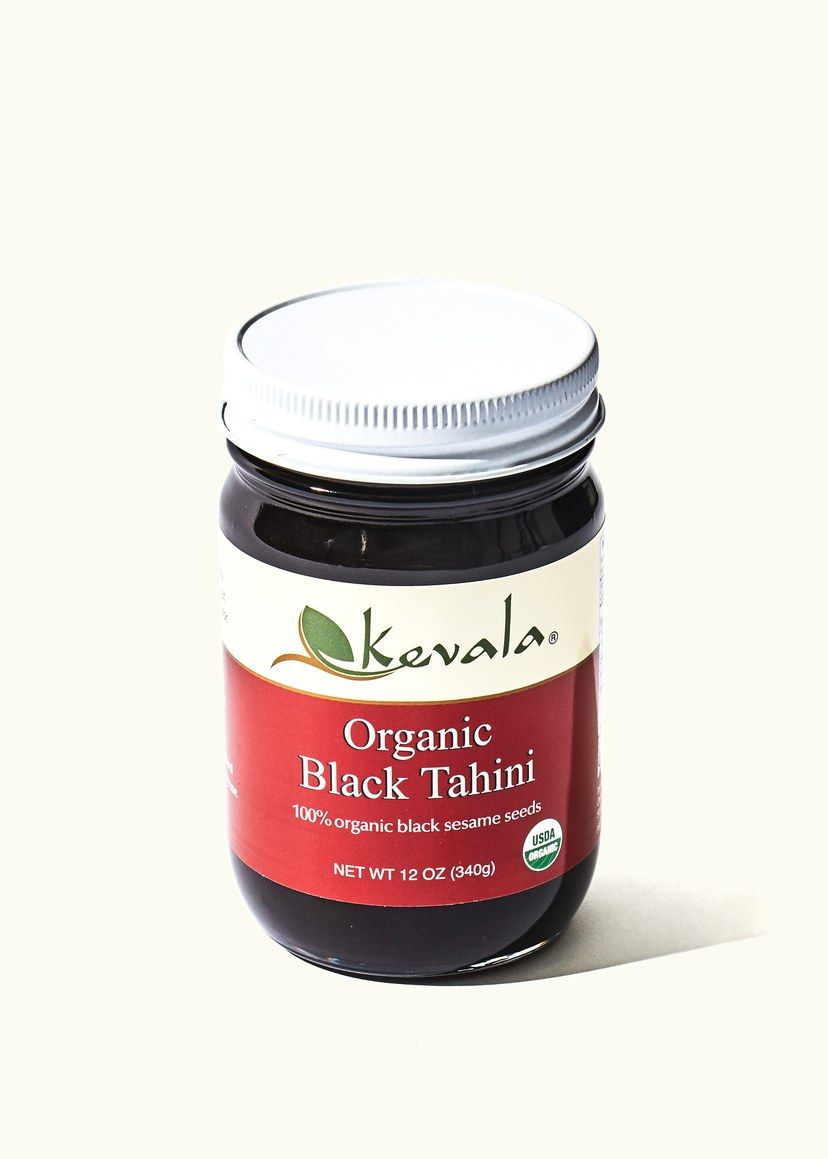 Black tahini is exactly what it sounds like which is