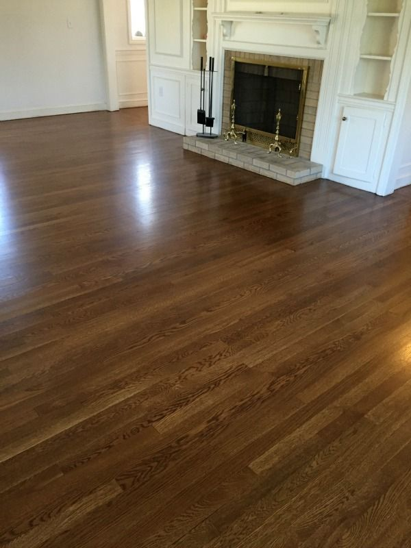 White Oak Floors Stained Wth Bona Drifast Stain In