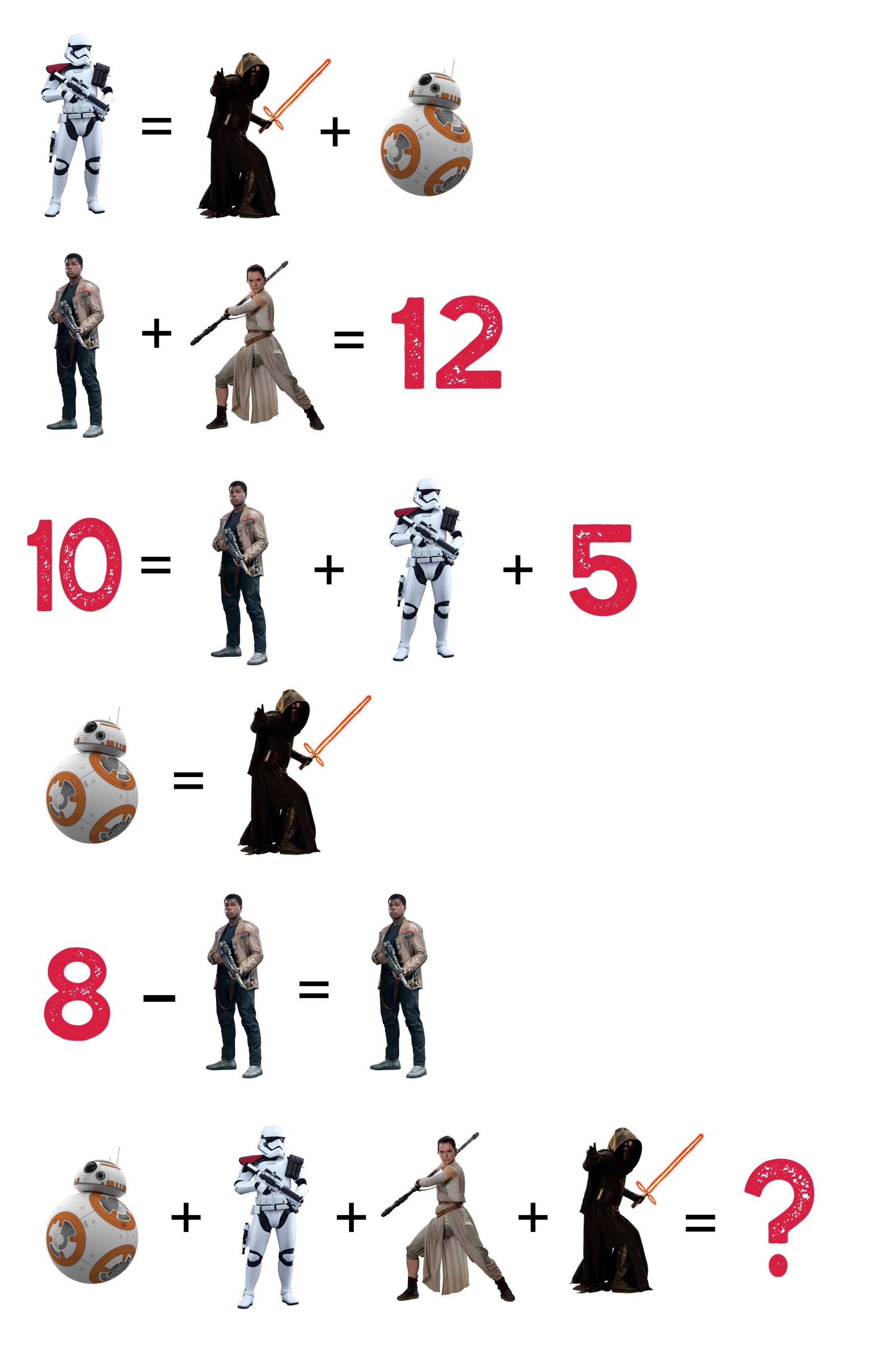 Star Wars Equations
