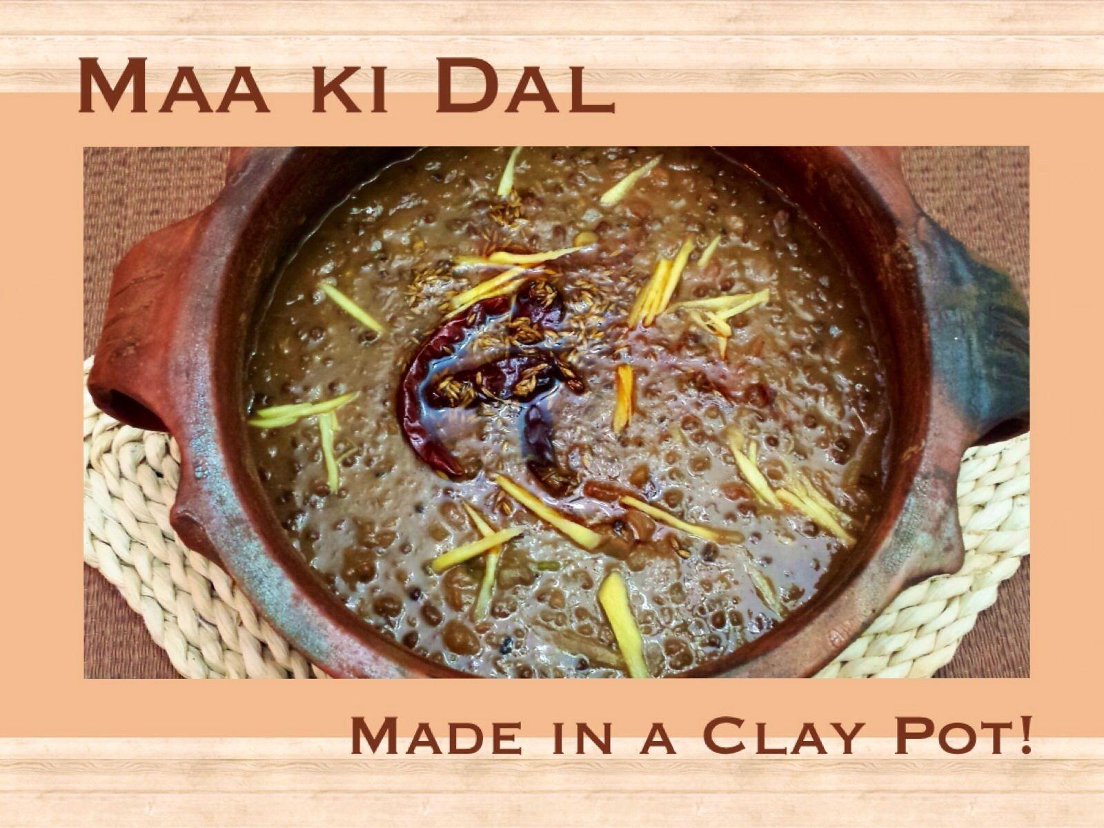 Maa ki Dal using Stove top / Slow cooker / Clay pot! | indian food ...