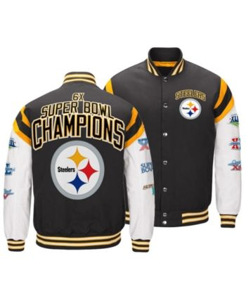 innovative design 36405 d6ae7 Authentic Nfl Apparel Men Pittsburgh Steelers Home Team ...