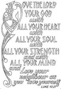 Lovely Deuteronomy 6 5 Coloring Page     Yahoo Image Search Results