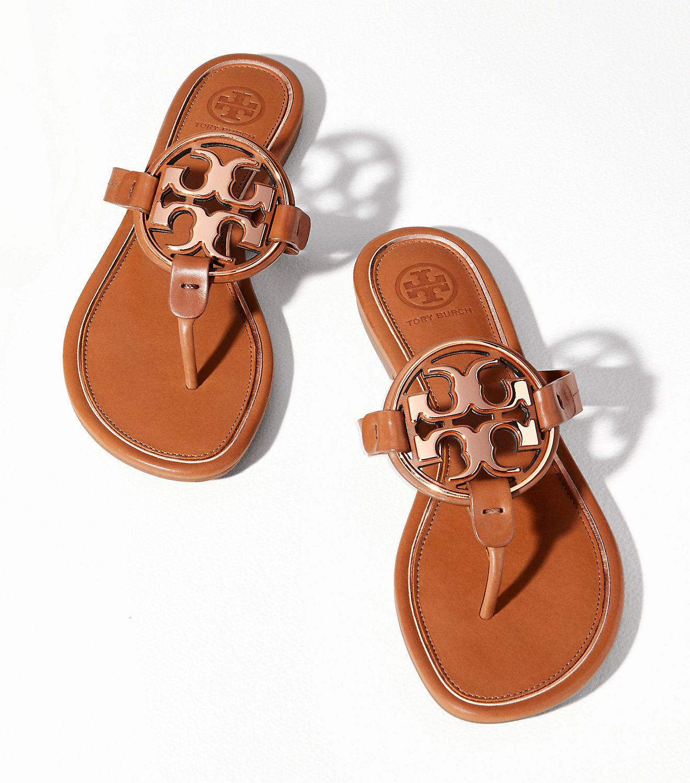 946ee8dca Tory Burch Miller Metal-logo Sandal