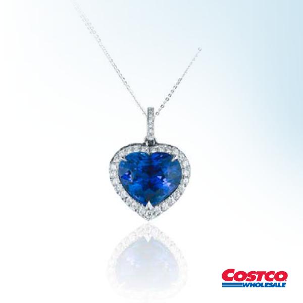 d7d68a6ce2d6 Collar de Zafiro Azul y Diamantes
