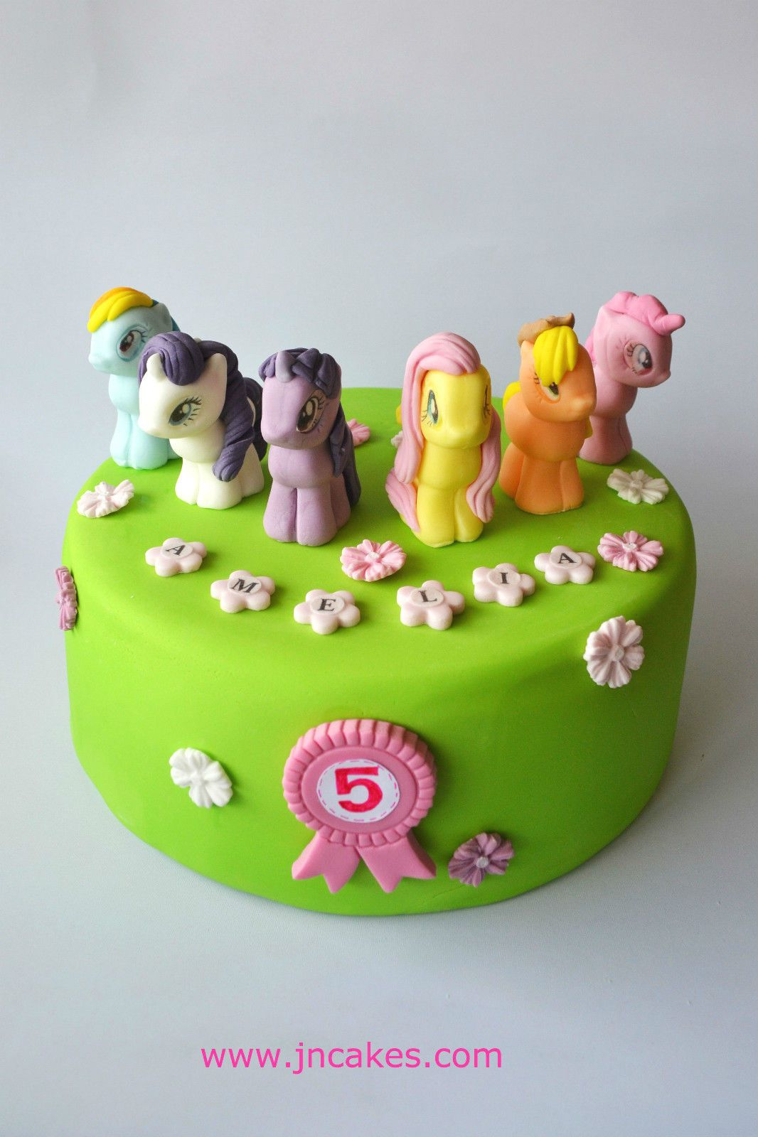 MY LITTLE PONY Cake Toppers Edible Sugar Paste Personalised Birthday Unofficial