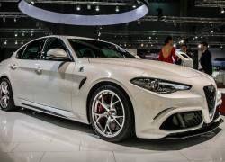 Alfa Romeo Giulia Quadrifoglio: Foto ufficiali dal Vienna Auto Show 2016