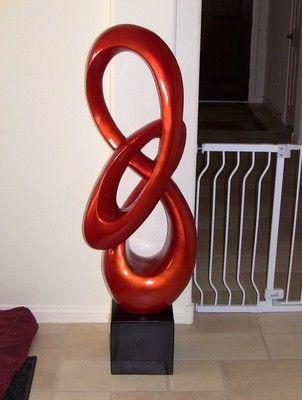 Tall Modern Floor Sculptures Zef Jam