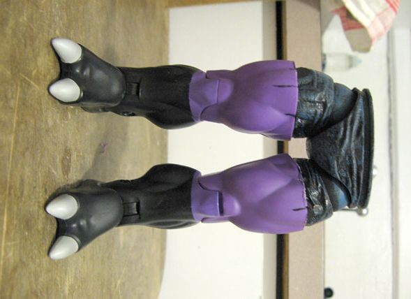 Fear Itself Juggernaut custom action figure by GrownNerd Base figure: Validus and Maestro
