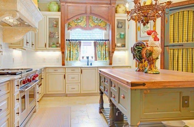 Colores De Cortinas Cocinas De Moda