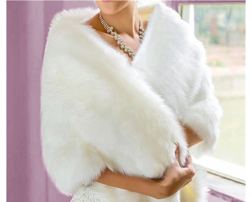 Chale Etole En Cachemire Et Fausse Fourrure Cape De Luxe Avec Magnifique Tissu Fausse Fourrure Imitation Winter Wedding Coat Bridal Fur Wrap Faux Fur Bridal