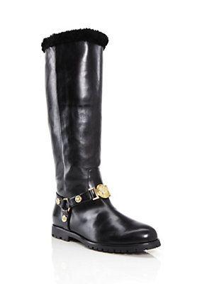 f495568ba00 Versace - Signature Flat Boot | The Way I Roll (My Style) | Flat ...