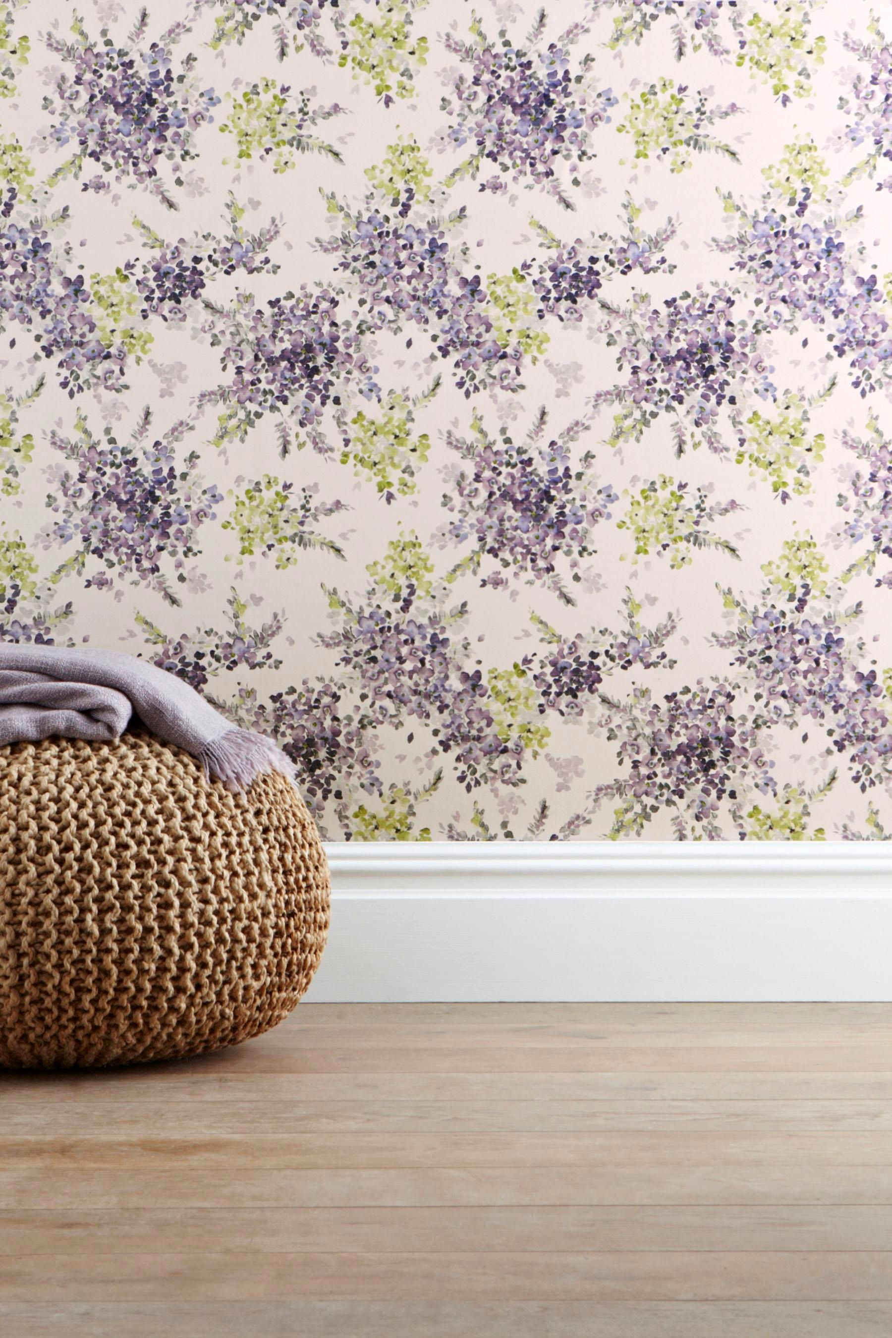 Buy Watercolour Floral Wallpaper from the Next UK online