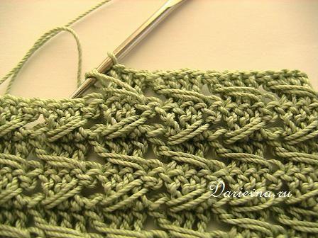 samurai crochet relieve stitch