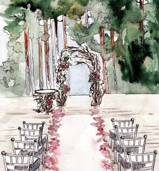 Drawing Wedding Altar: The Day I Stopped Trying To Make My Father Happy