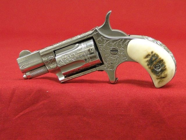North American Arms NAA 22 LR Engraved Revolver ...