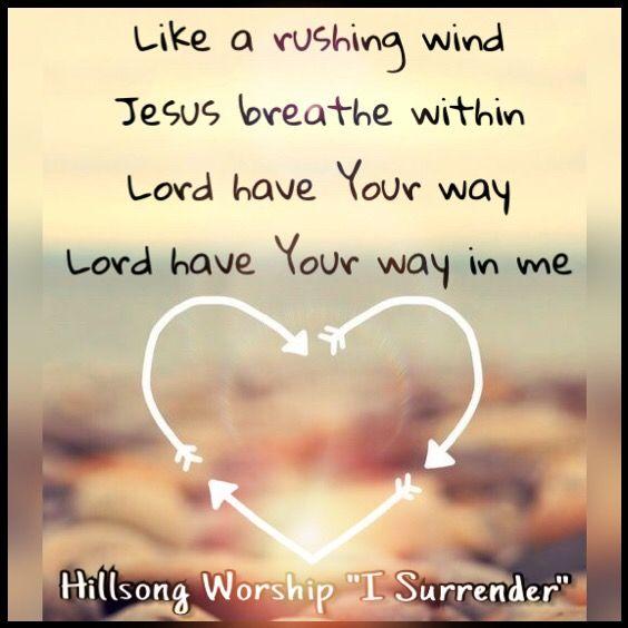 私の中にあなたの方法を持っているキリスト教の歌
