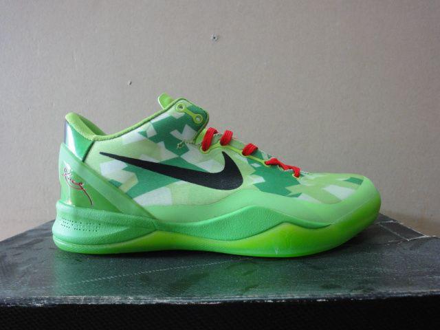 Kobe Shoes 2013 Cheap For Sale Kobe VIII 8 Grinch Christmas