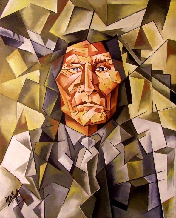 cubism | Wolf Robe in Cubism | Art of The Butterfly ...