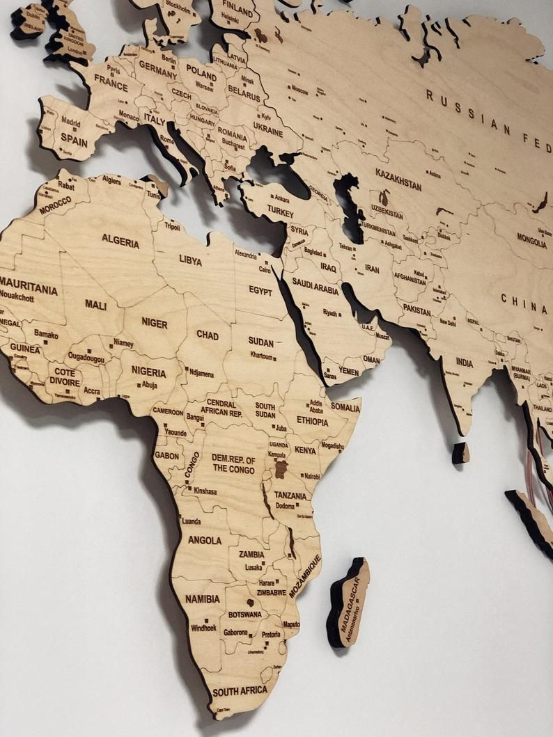 Light Wood Wall Map Of The World Map Wall Art Large Travel Led Etsy In 2020 World Map Wall Art Map Wall Art Decor Wall Maps