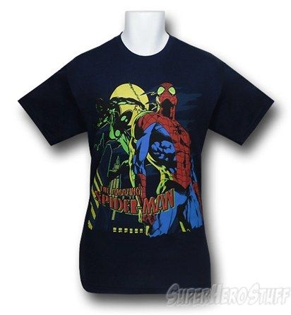 Spiderman Take a Stance T-Shirt   Superhero Stuff 317d5697b