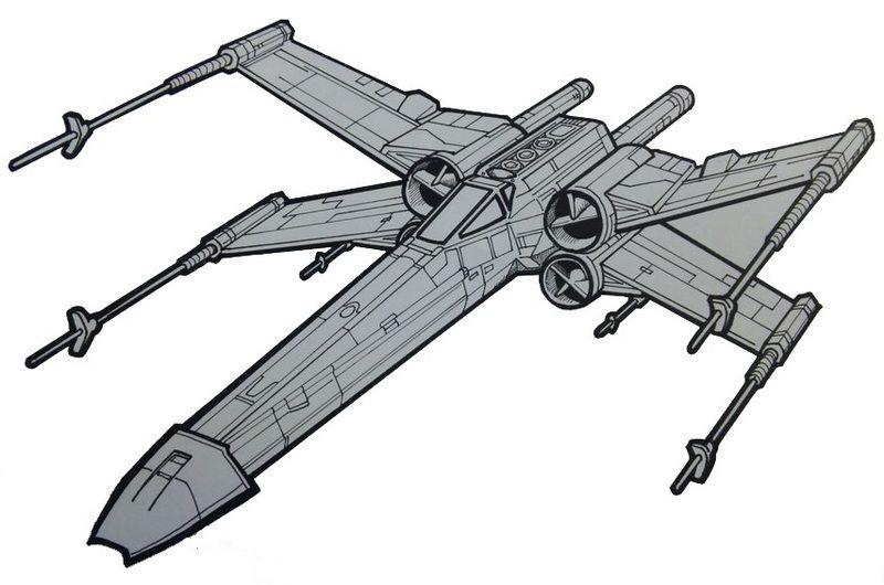 X Wing Fighter Image By Sky Thunder On Star Wars Coloring