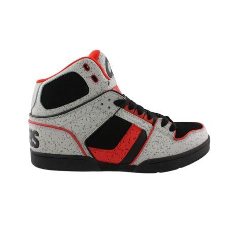 740b1f6e2e3 Mens Osiris NYC 83 Ultra Skate Shoe - Grey Black Red