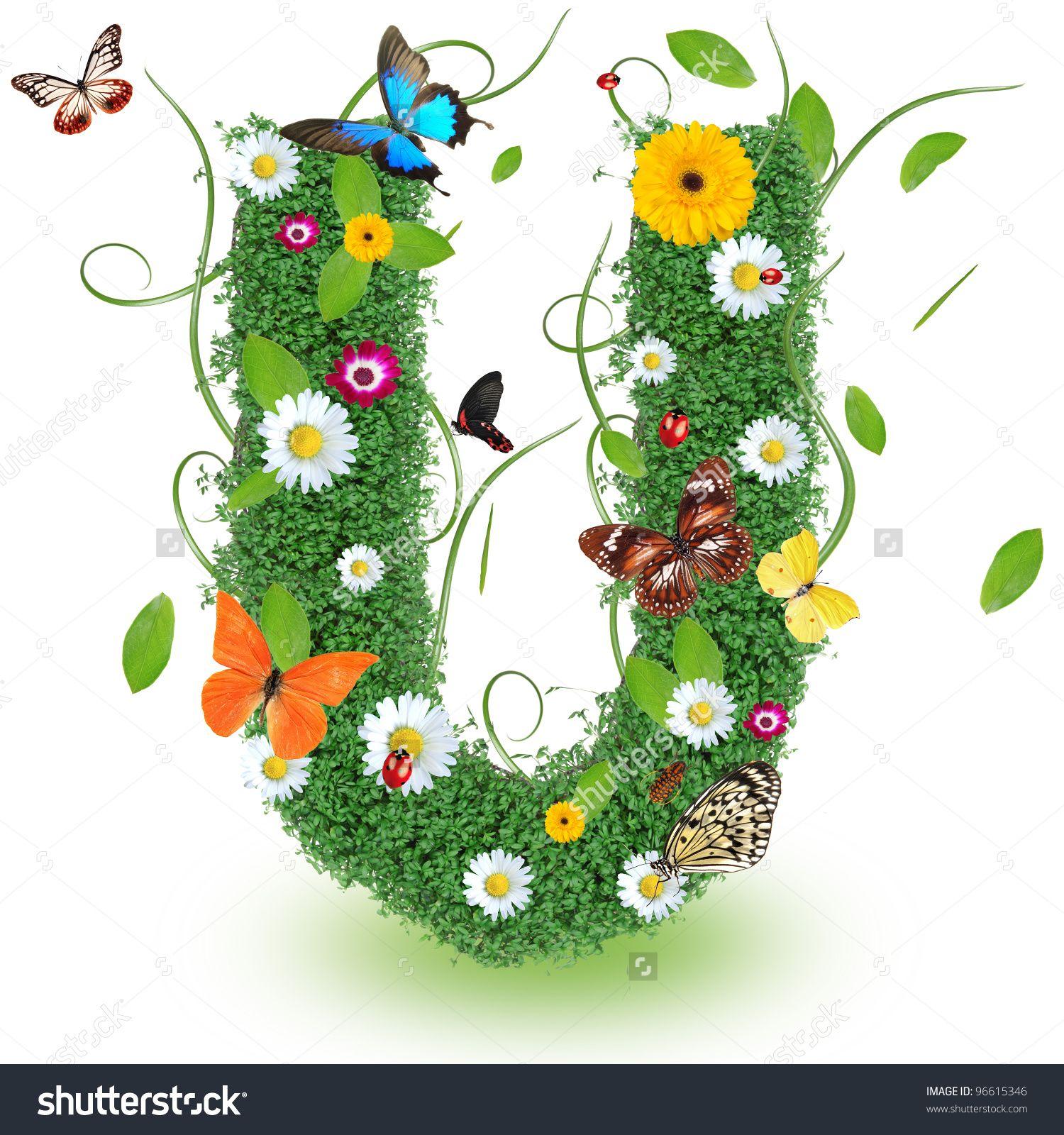 Pin Von Pearl Balagtas Auf Alphabet Flowers Alphabet Lettering