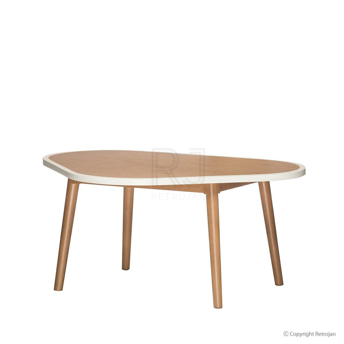 scandinavian coffee table | buy helga scandinavian triangular