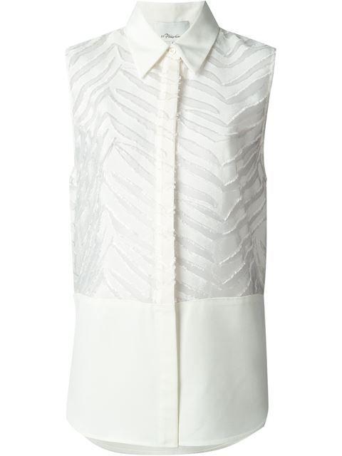 50af26ce5239a4 3.1 PHILLIP LIM Zebra Striped Shirt.  3.1philliplim  cloth  shirt ...