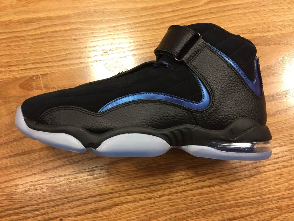 2e1223fe623a Quick Look At The Black Nike Air Penny IV Orlando Magic in 2019 ...
