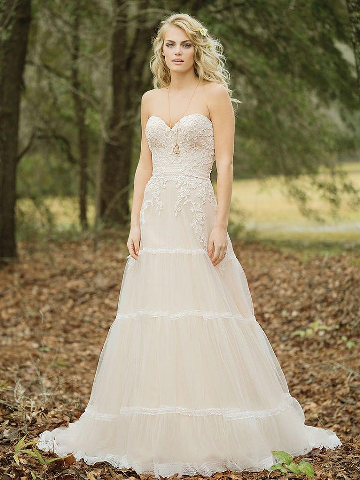 Lillian West Wedding Dresses Spring 2017 { Boho Chic and Vintage-inspired Wedding Dresses }