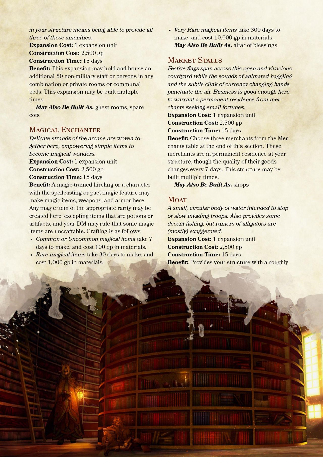 DnD 5e Homebrew Search Results For Stronghold