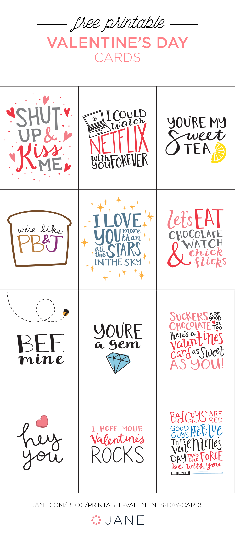 50 Easy Diy And Printable Valentines Best Of My So Called Chaos