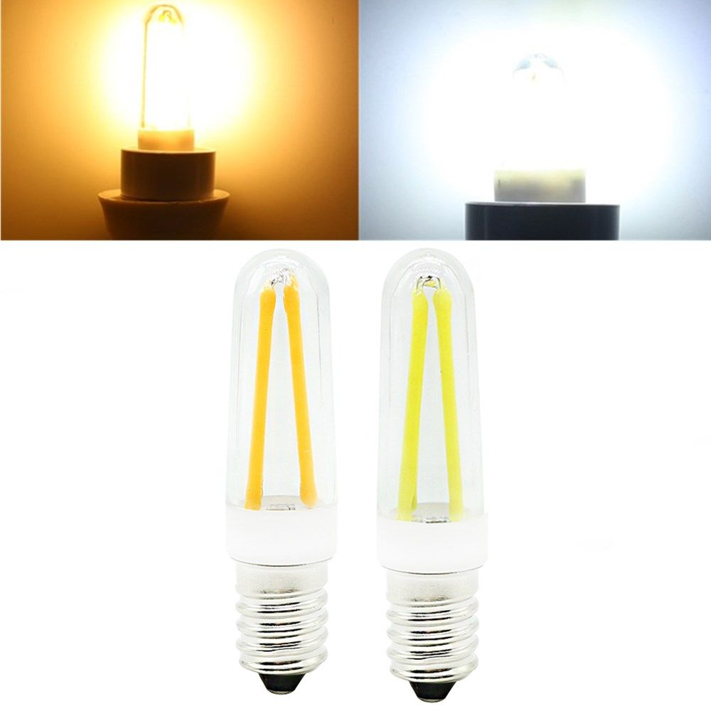 Mini Dimmable E14 4w Cob Led Filament Lamp Light Bulb Replace Halogen Lamp Ac110v 220v Led Bulbs Tubes From Lights Lighting On Banggood Com Halogen Lamp Dimmable Led Lamp Light