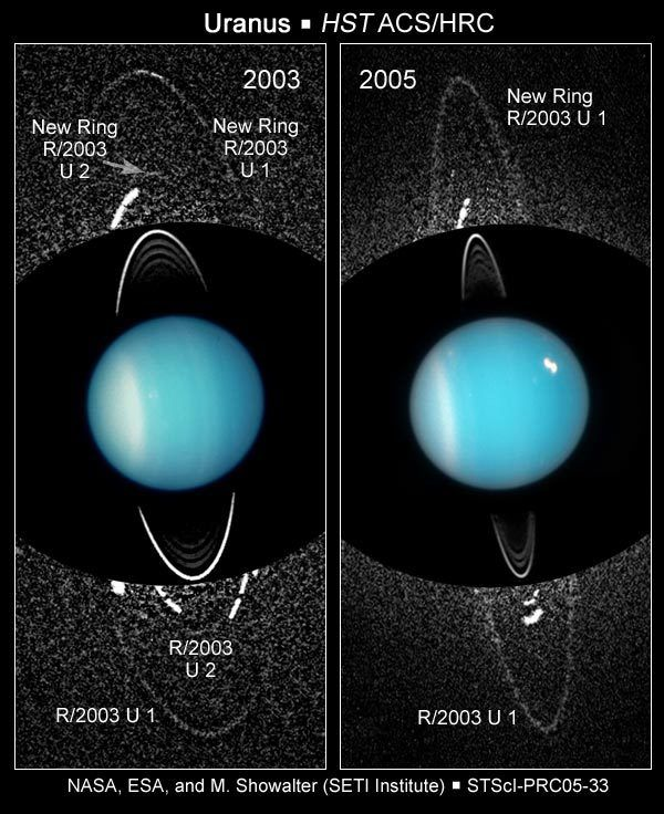Newly discovered rings and moons of Uranus | The Planetary Society