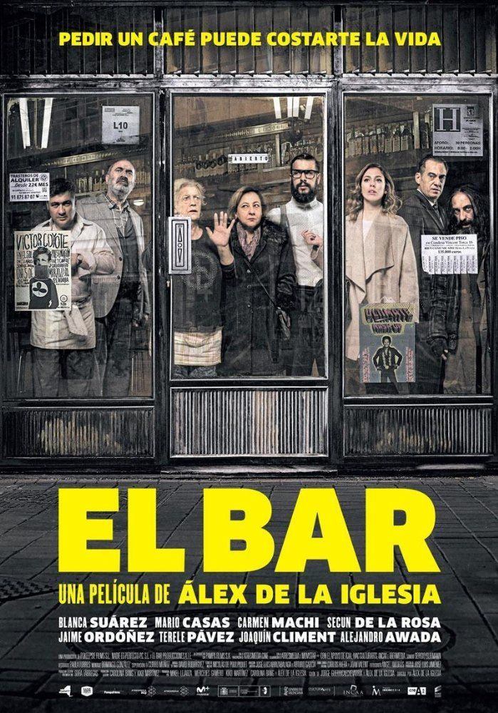 El Bar The Bar 2017 Hd Türkçe Izle Ispanya Yapımı Komedi Gerlim