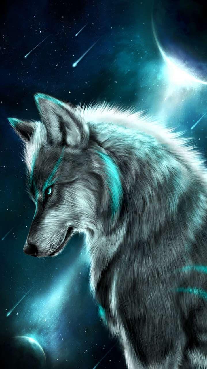 Alpha Wolf Iphone Wallpaper Wolf Wallpaper Alpha Wolf Animal Paintings